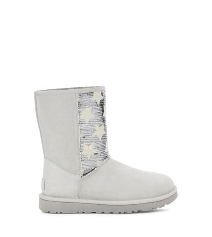 Classic Short Sequin Stars Boot