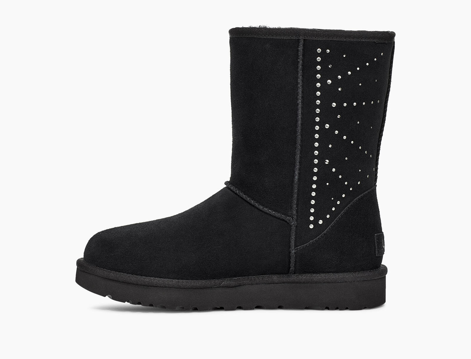 Classic Short Studded Stiefel