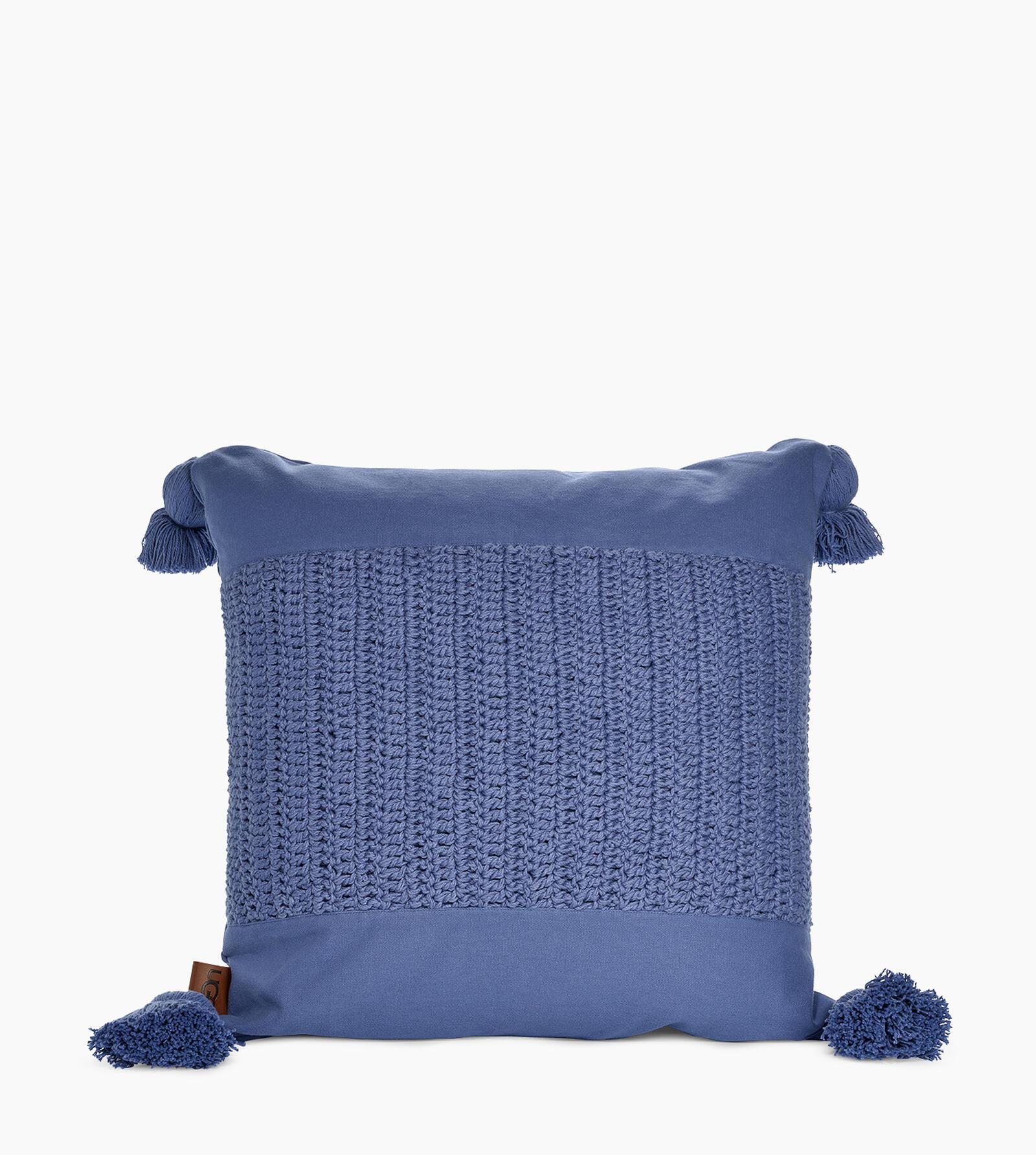 Crochet Canvas Pillow