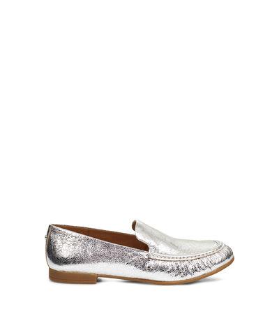 Vivian Metallic Loafers