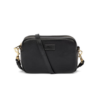 Janey II Leather Crossbody Bag