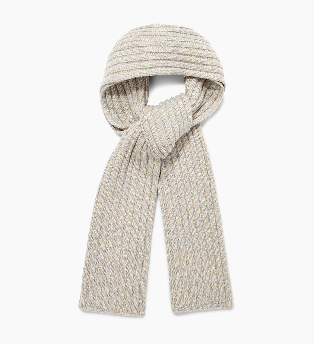 Pippa Rib Knit Cashmere Scarf