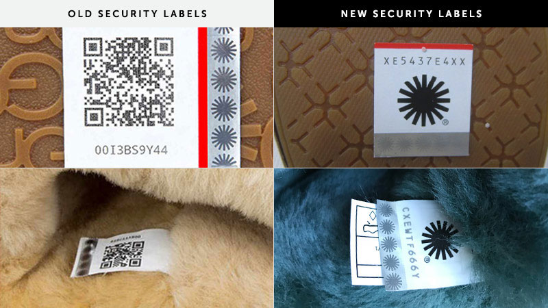 Past security labels between 2010-2015.