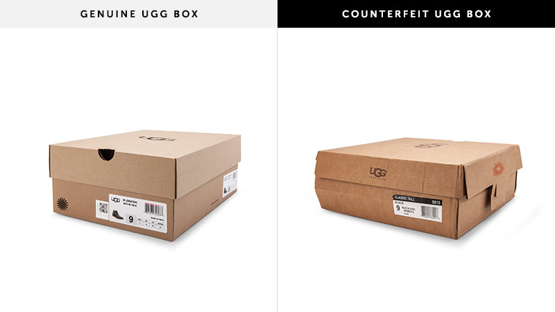 Box Quality Counterfeit Information