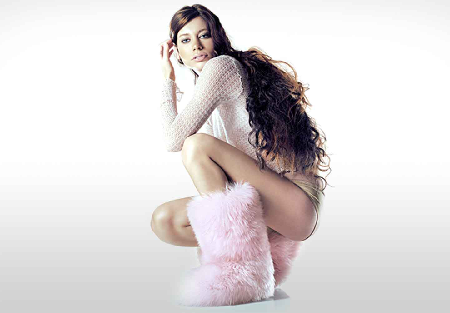 woman wearing Ugg boots