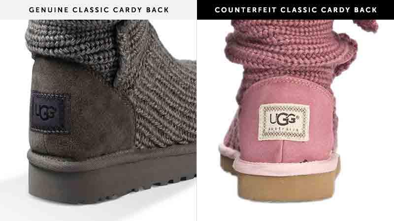 Heel Label Counterfeit Information