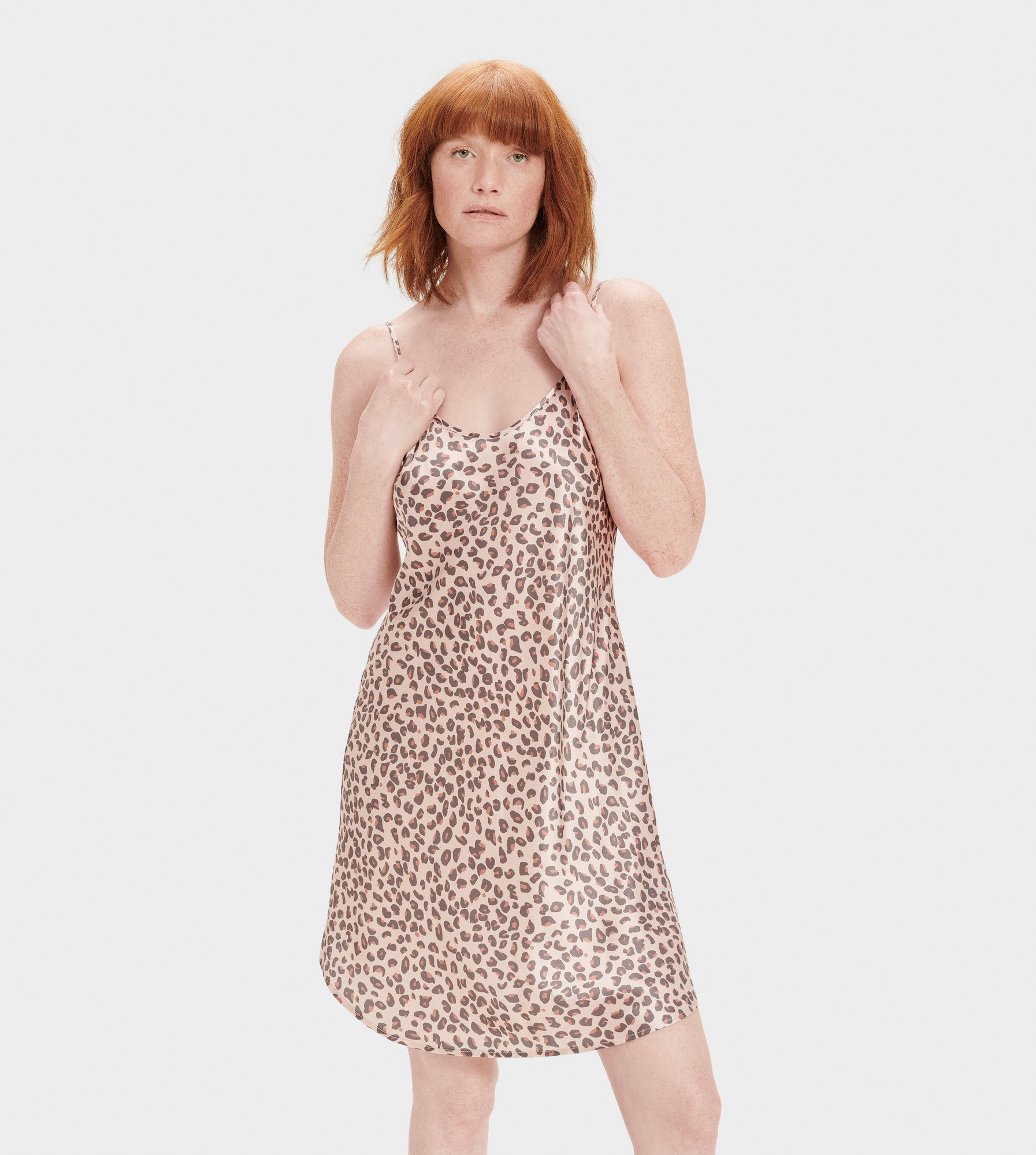 UGG Women's Theda Slip Dress Silk Dresses in Pink, Size XL Made from 100% silk, this soft slip dress features adjustable slider straps for the perfect fit. Ideal for wearing out, you'll love the way the smooth silk feels on your skin. 100% Silk Slip Dress. Adjustable straps with sliders. Center back 25 1/4  [Size S]. Dry Clean Only. UGG Women's Theda Slip Dress Silk Dresses in Pink, Size XL