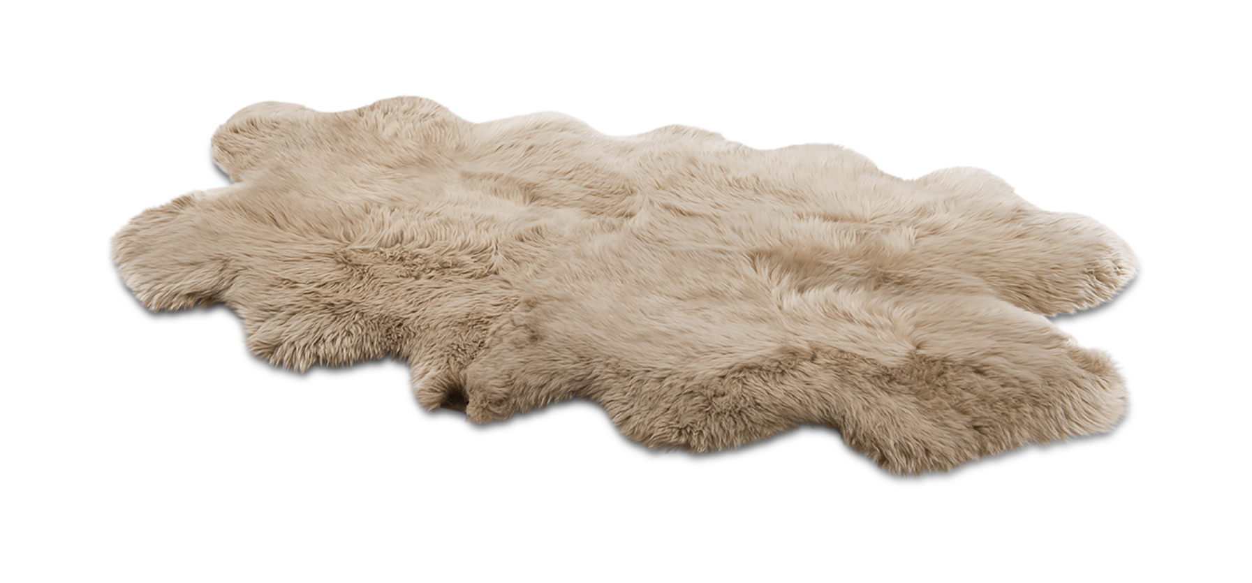 UGG Sheepskin Area Rug-Quarto Rugs in Tan This luxurious sheepskin rug adds a chic and modern update to any space. Details:. 100% Genuine Sheepskin. 48 inch x 72 inch. UGG Sheepskin Area Rug-Quarto Rugs in Tan