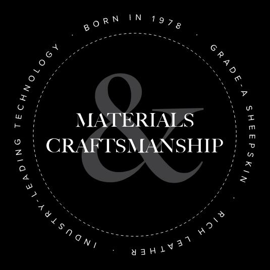 Materials and Craftsmanship.