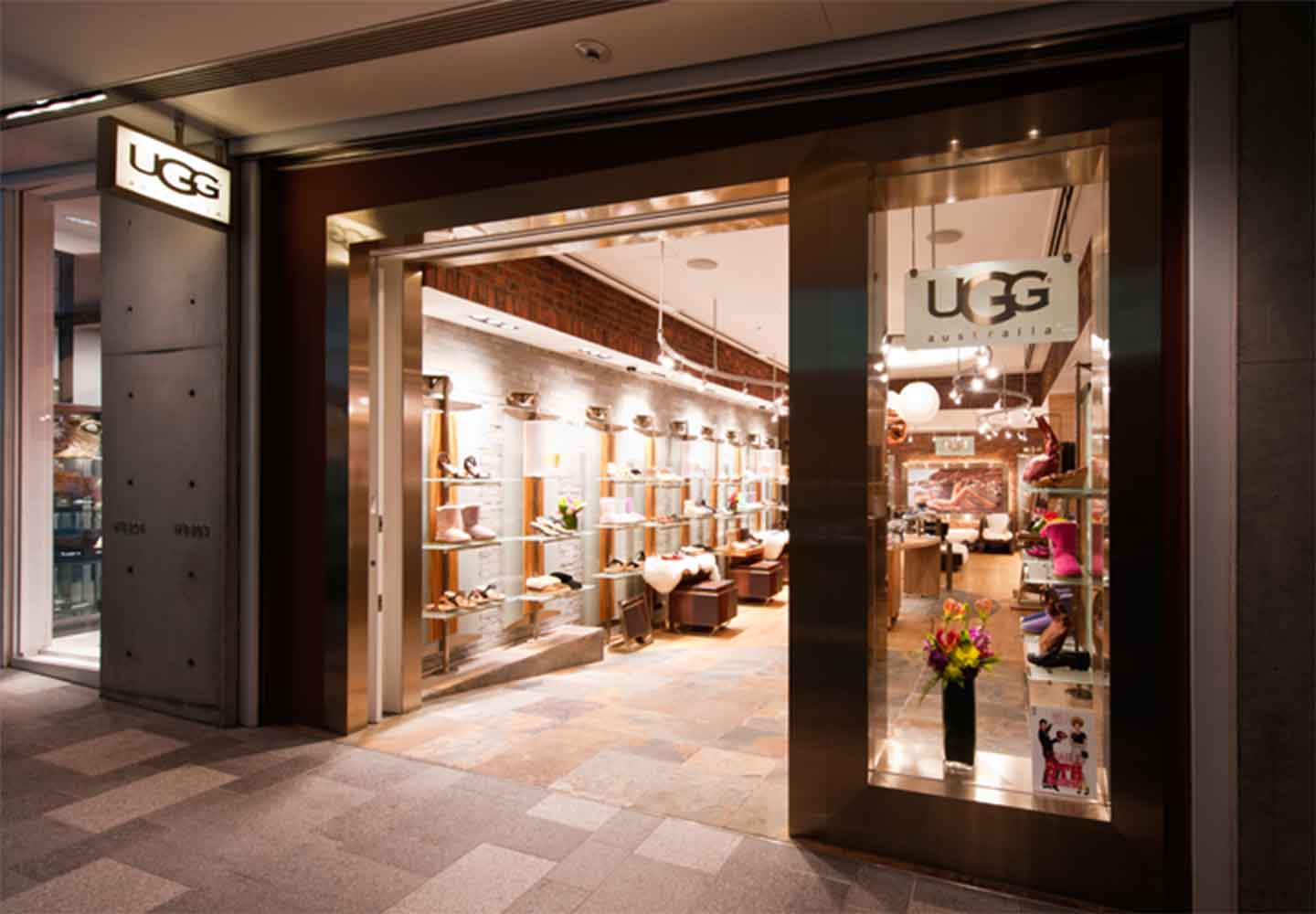 storefront of Ugg retail store in Japan