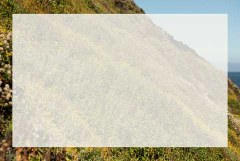 Mountain scene with a transparent overlay.