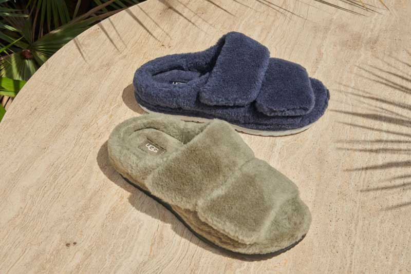 UGG slippers for him.