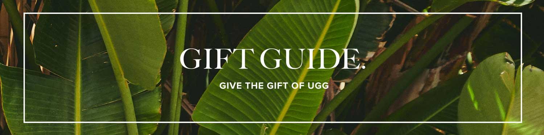 Gift guide. 2021 Summer UGG Banner.