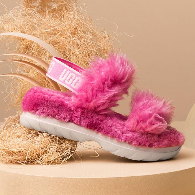 Sugarsole sandal in pink.