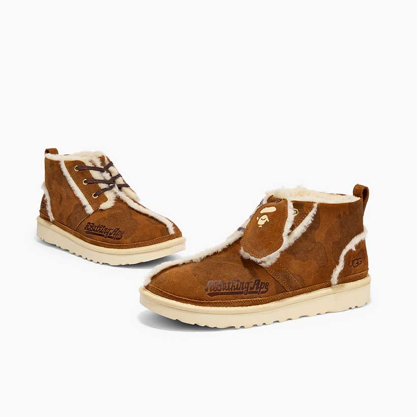 Bape mid top shoes