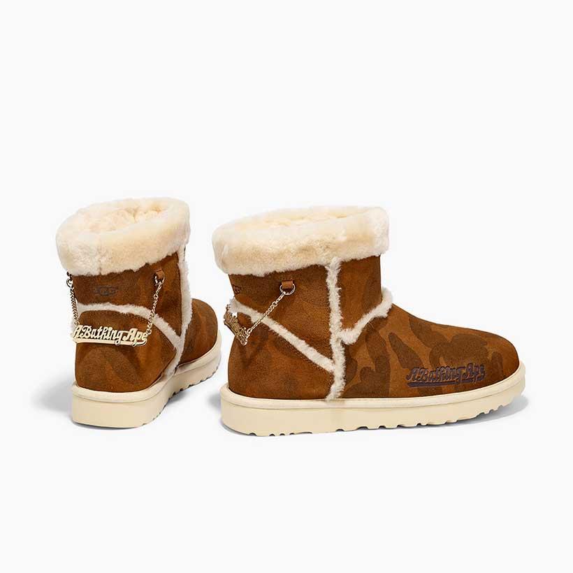 Bape high top shoes
