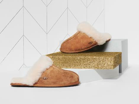 UGG slippers.