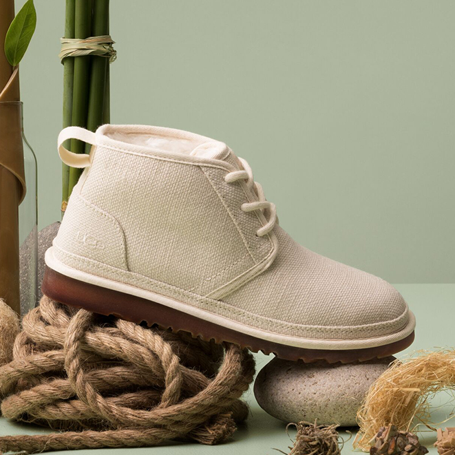 White Neumel boot from Plant Power collection.