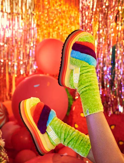 Pride Disco Slide in the party room.