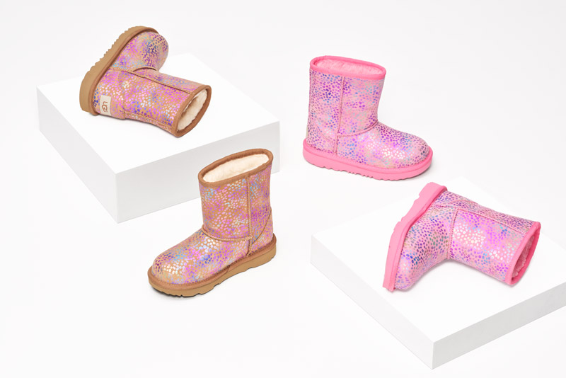 Kids' UGG boots.