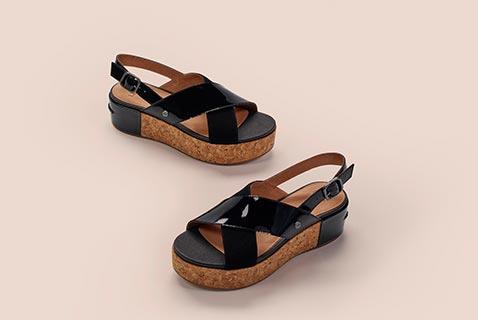 6b17b241fd Close-up of the Shoshana Sandal. Shop Ugg Exclusives