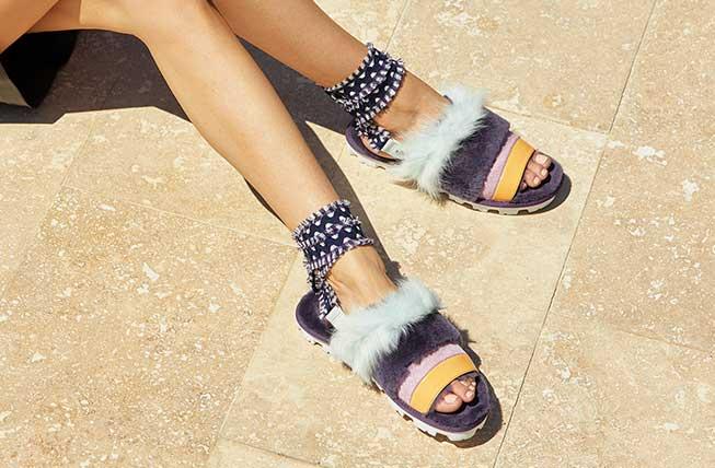 Close up of the Desert Dream Sandal.