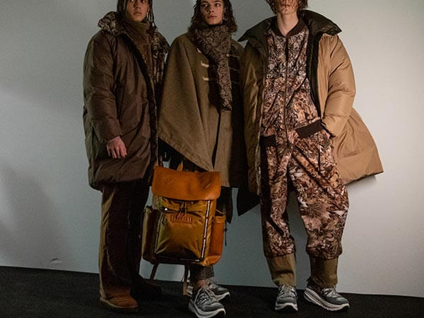 Runway models featuring White Mountaineering