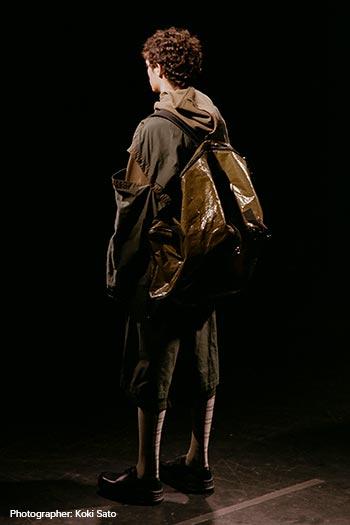 Runway models featuring N.HOOLYWOOD